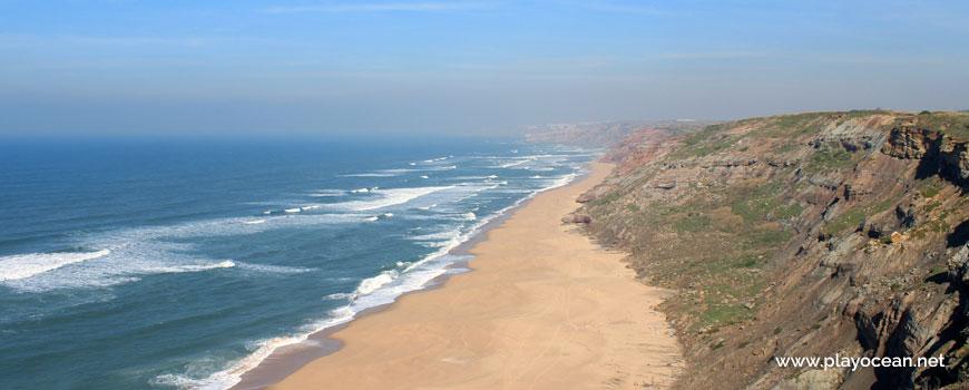North at Praia das Conchas Beach