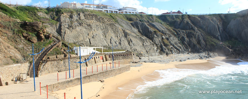 Panoramic of Praia da Formosa Beach