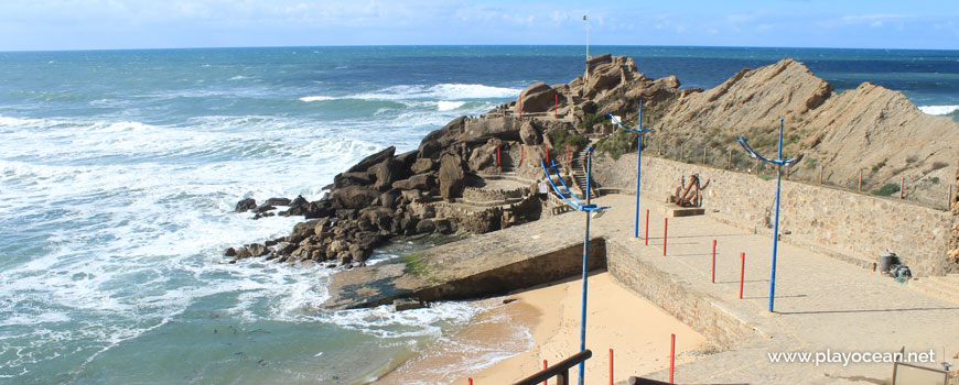 Viewpoint at Praia da Formosa Beach
