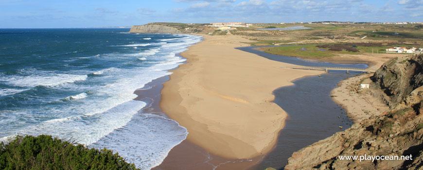 Praia da Foz do Sizandro Beach