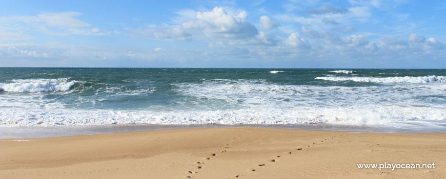 Sea at Praia da Foz do Sizandro Beach