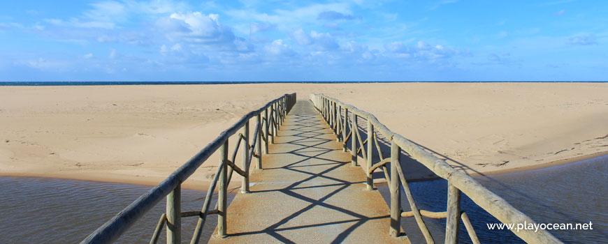 Access to Praia da Foz do Sizandro Beach