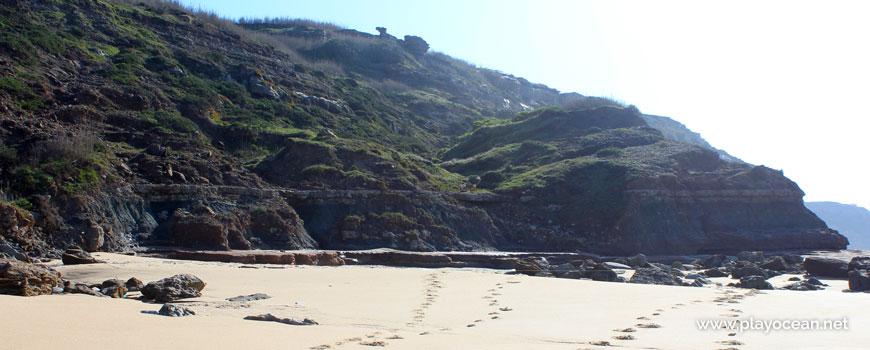 Falésia, Praia da Horta