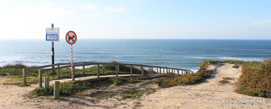 Passadiço na Praia da Mexilhoeira