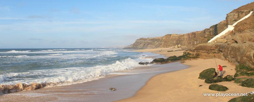 North at Praia da Mexilhoeira Beach