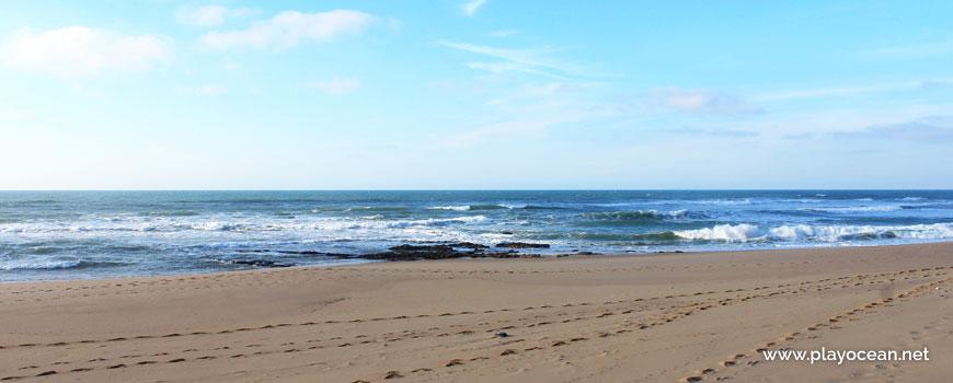 Sea at Praia da Mexilhoeira Beach