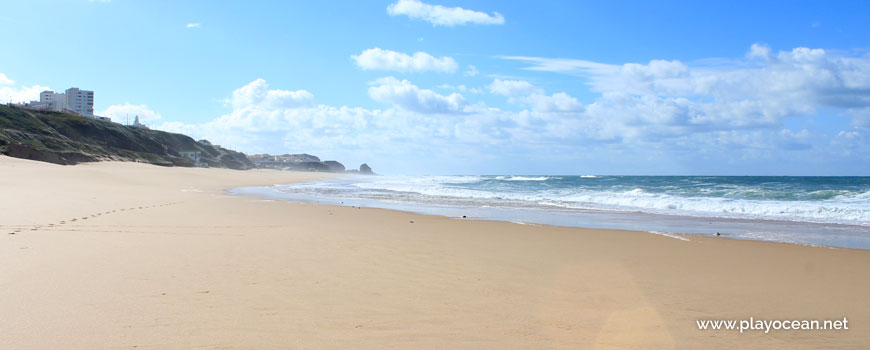 South at Praia do Mirante Beach