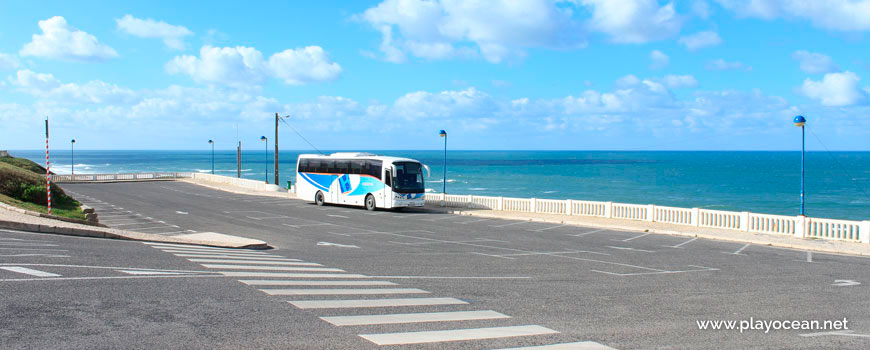 Bus at Praia do Mirante Beach