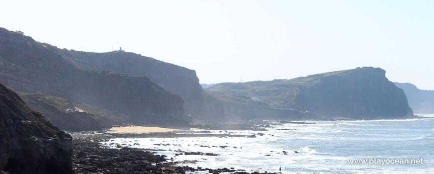 Cliff at Praia das Peças Beach