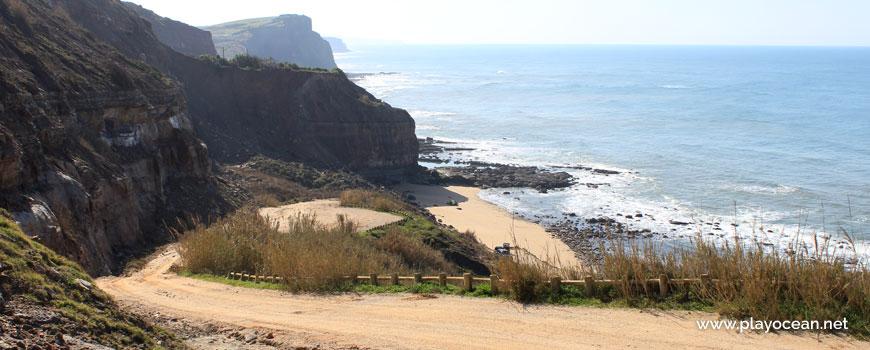 Access to Praia das Peças Beach