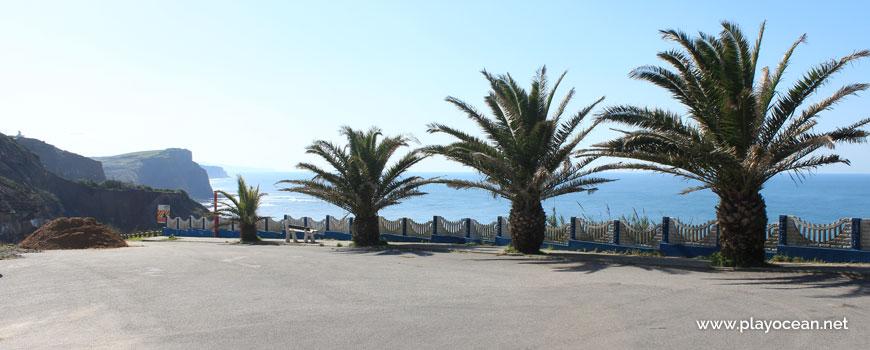 Viewpoint at Praia das Peças Beach