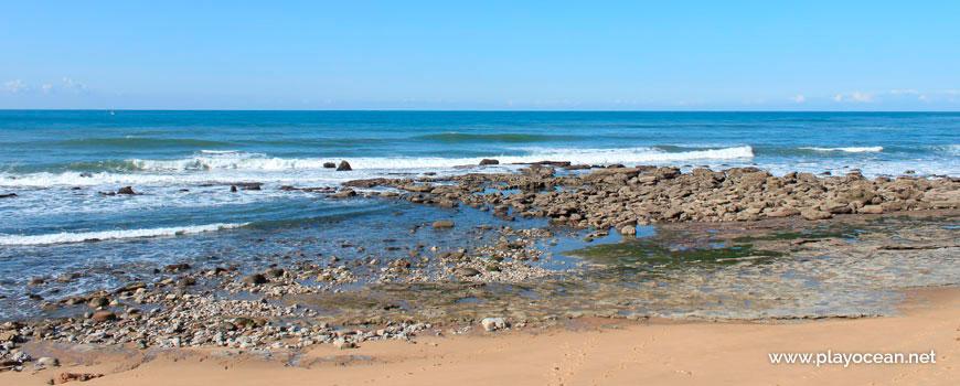 Sea at Praia das Peças Beach
