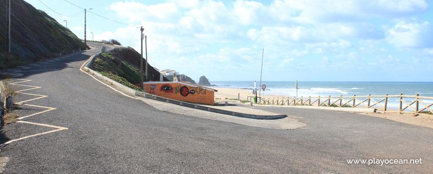 Bar at Praia do Pisão Beach
