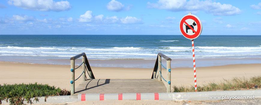 Escadaria na Praia do Pisão