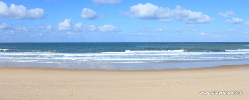 Sea at Praia do Pisão Beach