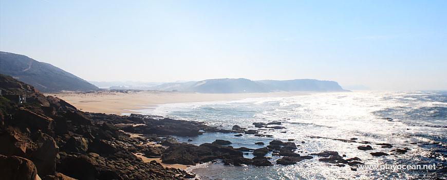 Panorâmica da Praia de Santa Rita (Norte)