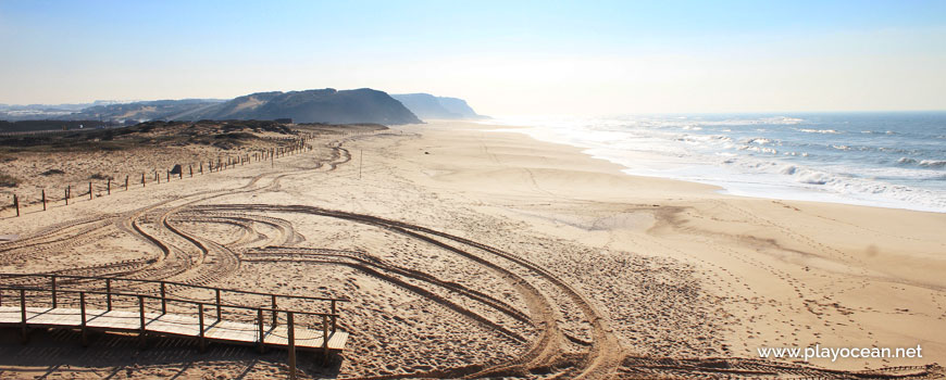 Sul na Praia de Santa Rita (Norte)