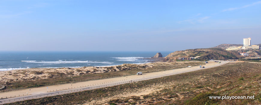 Dunes at Praia de Santa Rita (North) Beach