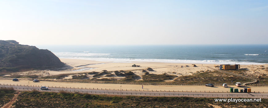 Panoramic of Praia de Santa Rita (South) Beach