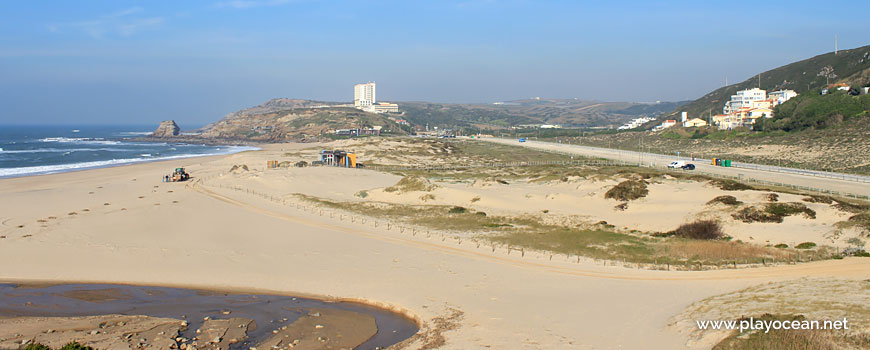 Stream, Praia de Santa Rita (South) Beach
