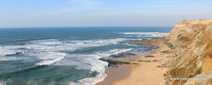 Sea at Praia do Seixo Beach