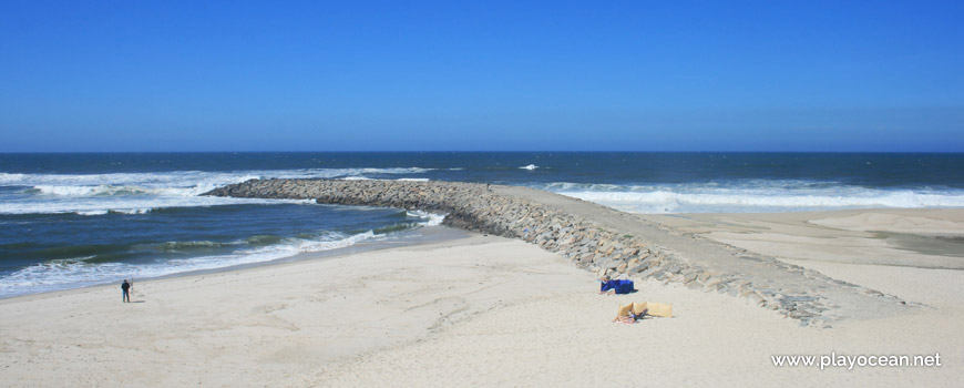 Pontão, Praia do Areão