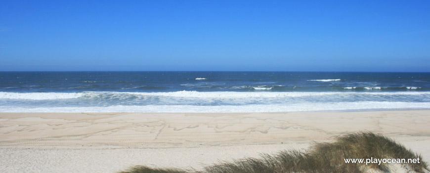 Mar na Praia do Areão
