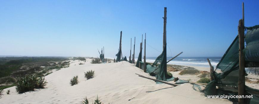 Vedação na Praia da Gafanha da Boa Hora