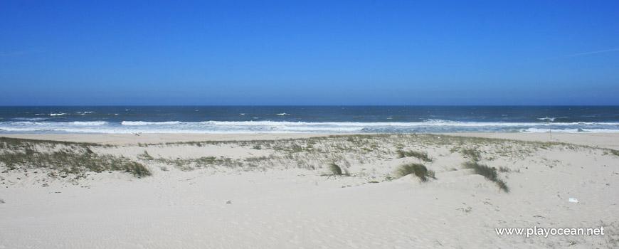 Sea at Praia da Ponte da Vagueira Beach