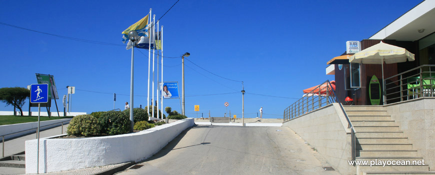 Banners of Praia da Vagueira Beach