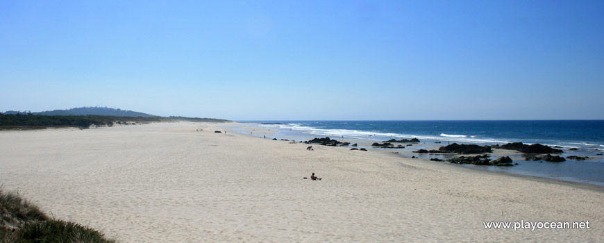 South at Praia de Afife Beach