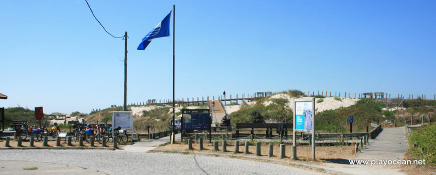 Entrance, Praia da Arda Beach