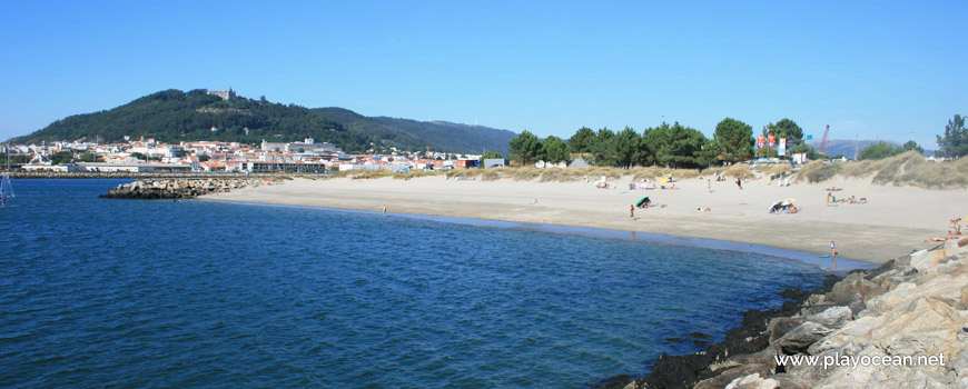 North panoramic, Praia do Cabedelo Beach