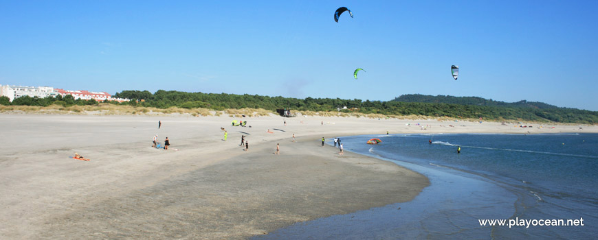 South sand at Praia do Cabedelo Beach