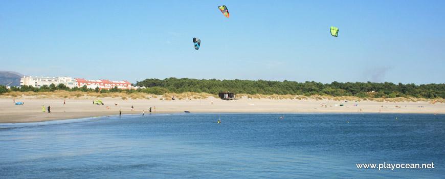 View of Praia do Cabedelo Beach