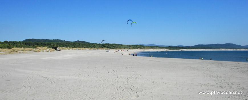 South of Praia do Cabedelo Beach
