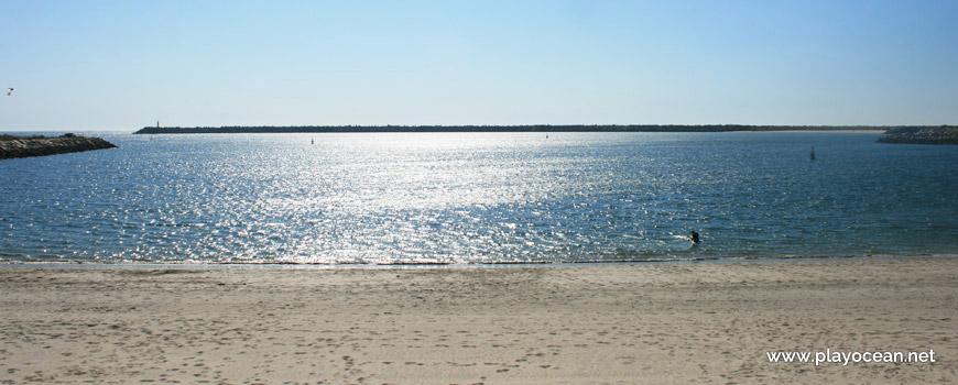Sea at Praia do Cabedelo Beach