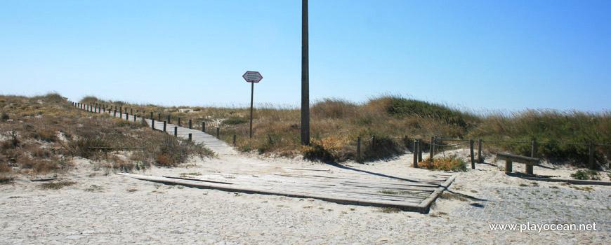 Entrada da Praia do Camarido