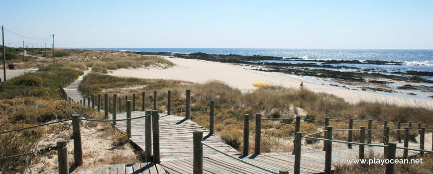 Passadiços na Praia do Camarido