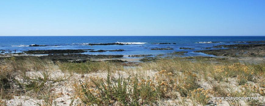 Mar na Praia do Camarido