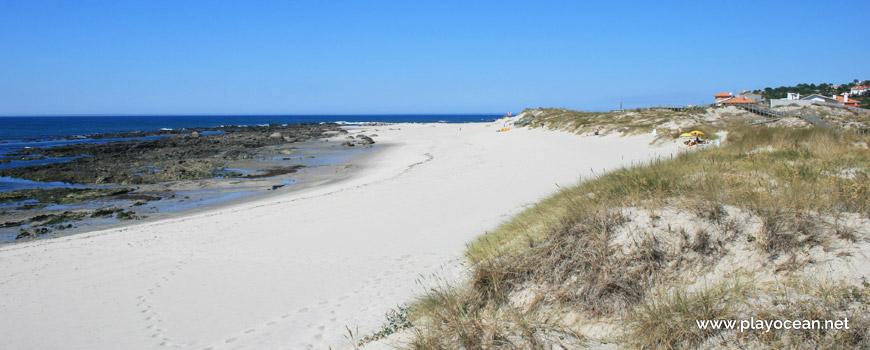 Norte da Praia do Camarido