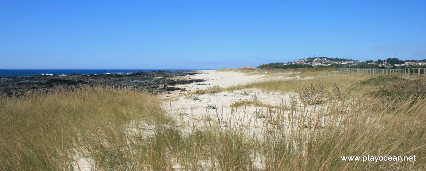 North at Praia do Canto Marinho Beach