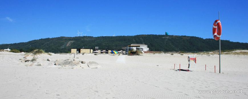 Lifeguard station, Praia de Carreço Beach