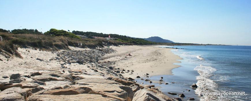 Seawall at Praia de Castelo do Neiva Beach