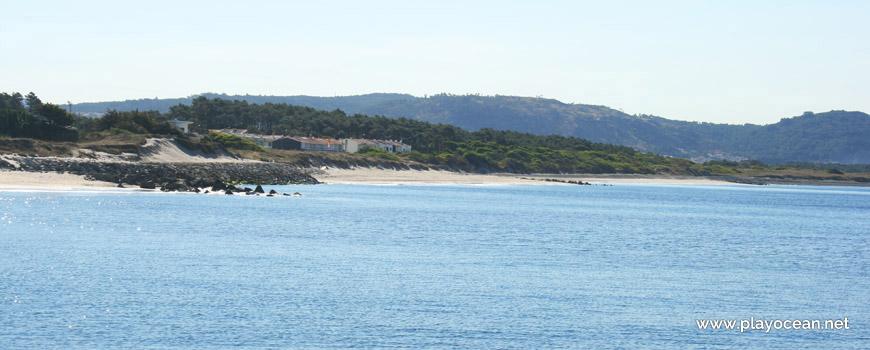 Panoramic of Praia de Castelo do Neiva Beach