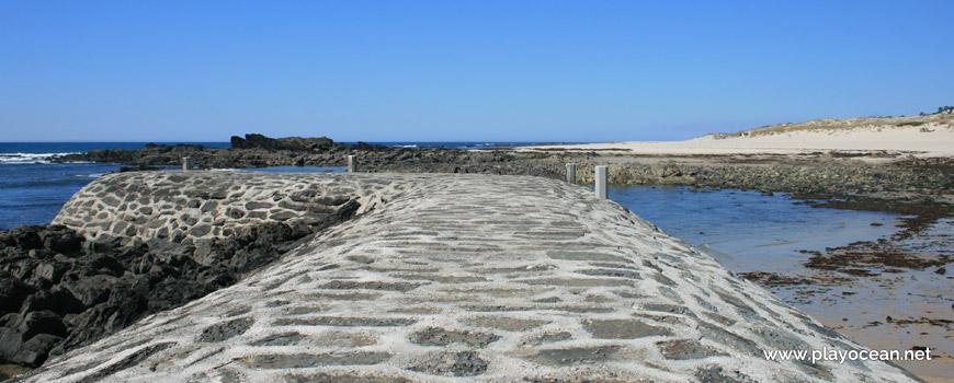 Pier at Praia do Lumiar Beach