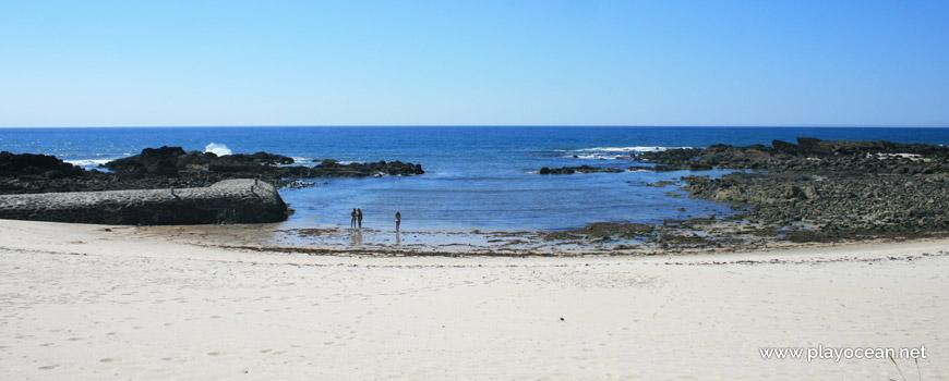 Bathing area, Praia do Lumiar Beach