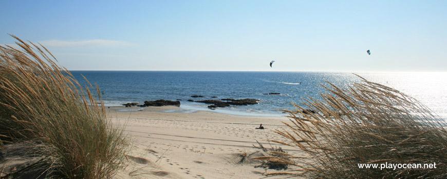 Entrance of Praia de Luzia Mar Beach