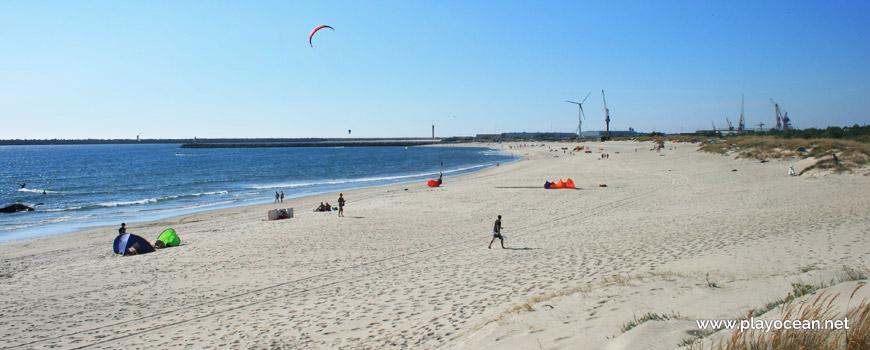 Norte da Praia de Luzia Mar