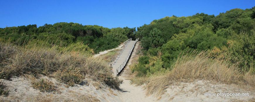 Walkway at Praia de Luzia Mar Beach